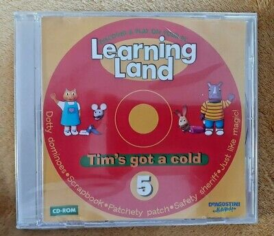 Learning Land Tim's Got A Cold CD-ROM  • 2.22£