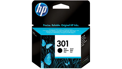 HP 301 Original Ink Cartridge CH561EE Black • 14.99£