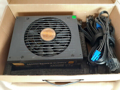 BTC 1650w Power Supply Unit Psu 90+ Gold With Cables • 80£