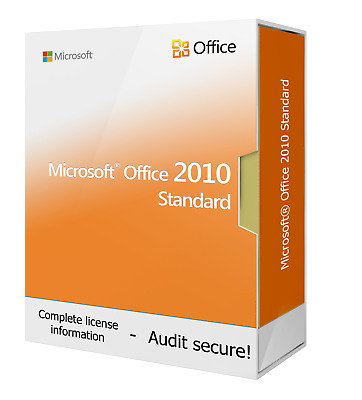 Microsoft Office 2010 Standard - New & Original - Download - Instant Delivery • 16.99£