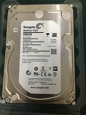 Seagate (ST8000AS0002) 8TB Archive SATA III (3.5 ) 6Gbps 5.9K 128MB Hard Drive • 140£