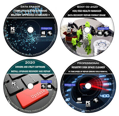 PC Health Speed Data Resource Recovery Repair Windows Drivers Management DVD • 3.39£