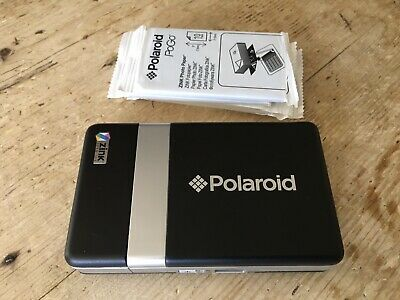 Polaroid PoGo Mobile Thermal Printer With 60 (6x10) Packs Of ZINK Photo Paper • 30£