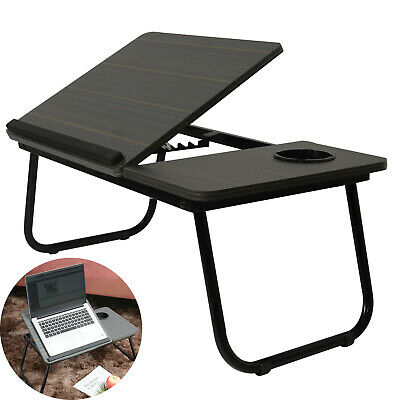 Laptop Table Stand  Adjustable Portable Folding  Desk Table Stand Lap Tray Bed • 24.59£