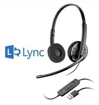 PLANTRONICS Blackwire C320-M USB Headband Wired Headset - Certified For Skype • 31.99£