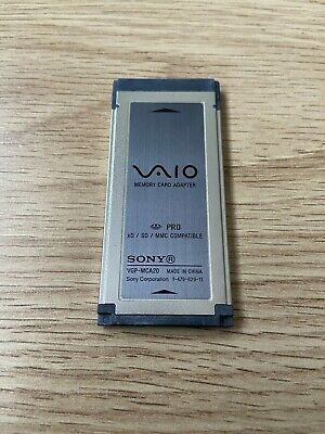 Sony VAIO Laptop XD SD MMC Memory CARD READER Adapter Compatible Stick Pro Duo • 22£