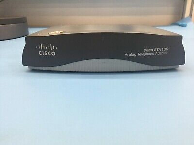 Cisco ATA 186 Analog Telephone Adaptor [SKU02635] • 44.99£
