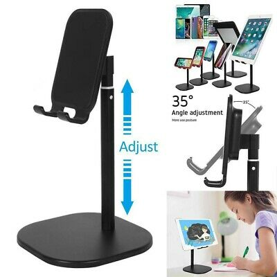 Universal Adjustable Tablet Stand Holder For IPad Samsung IPhone Mobile Phone UK • 5.19£