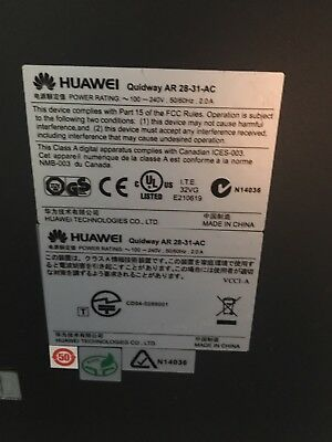 Huawei Quidway AR 28-31 2-Port 10/100 Wired Router ' • 150£