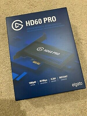 Elgato Game Capture Hd60 Pro 1080p For Xbox One Sony Ps4 Nintendo Brand New  • 85£