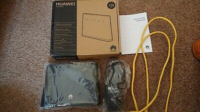 Huawei 4g Lte Router LOCKED TO THREE  • 25£