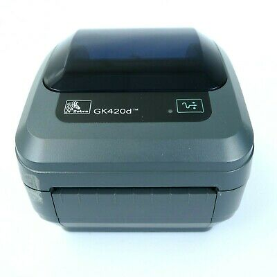 Zebra GK420d Thermal Label Printer - 4 X 6 Labels - USB - Serial • 189£