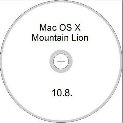 Recovery Disc For Mac OS X 10.8 Mountain Lion • 5£