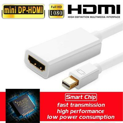 Mini ThunderBolt Display Port DP To HDMI Cable Adapter For Macbook Pro Air IMac • 4.25£