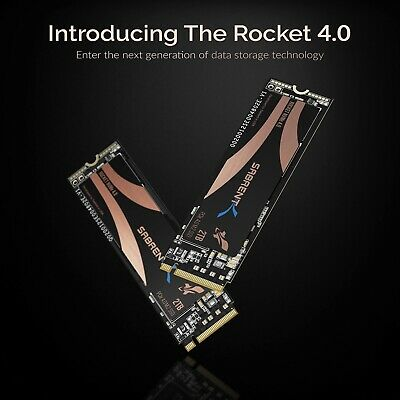 Sabrent 2TB Rocket Nvme PCIe 4.0 M.2 SSD **NEXT DAY DELIVERY • 249.99£