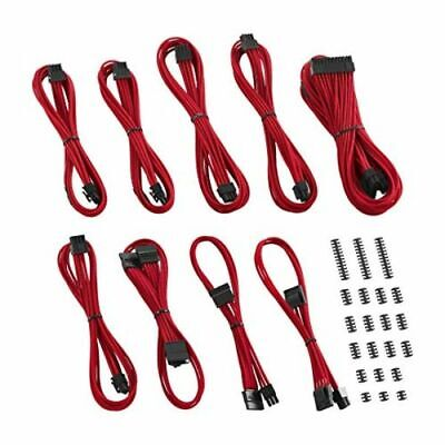 CableMod Classic ModMesh C-Series Cable Kit Corsair AXi HXi & RM - Red • 100.64£