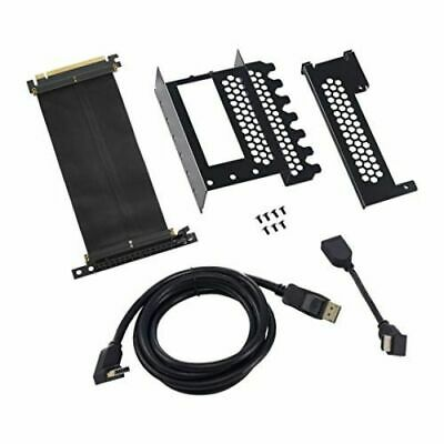 CableMod Vertical Graphics Card Holder With PCIe X16 Riser Cable 1 X DisplayPort • 78.76£