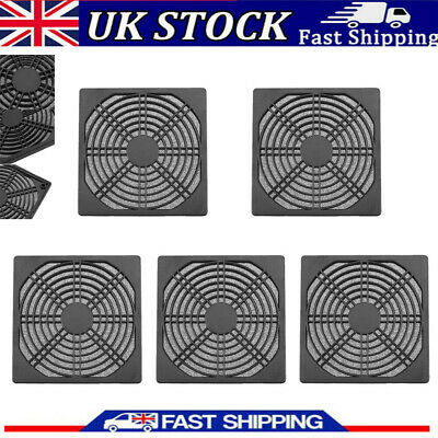 Dustproof 120mm Case Fan Dust Filter Guard Grill Protector Cover PC Compute • 6.96£