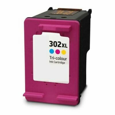 Refilled Ink HP 302 XL Colour Cartridge For Use With HP 302XL • 16.89£