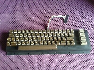 Commodore 64 / Vic 20 Keyboard --- TESTED --- FREE UK P&P • 24.95£