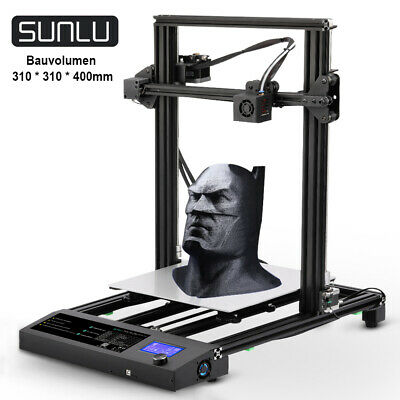 SUNLU 3D Printer S8 DIY FDM Fast Assembly Heated Bed Large Size 310x310x400mm • 259£