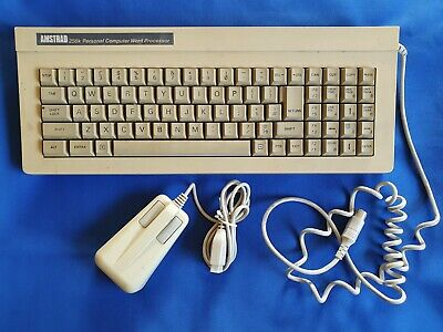 Amstrad 8256 256K PCW Keyboard & Mouse • 7.50£