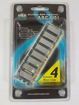 Aluminium RAM Chip Cooler ARC-U01 / FAST POST  • 2.99£