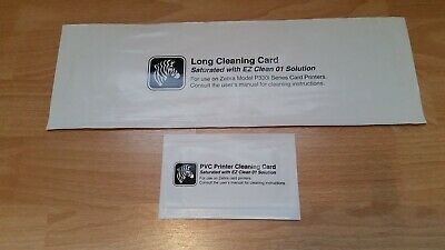 Cleaning Card Kit For Zebra Model P330i • 35£