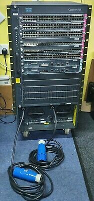 Cisco Catalyst 6500 13 Slot Switch Chassis. WS-X6548-GE, WS-X6724-SFP,WS-SUP720 • 310£