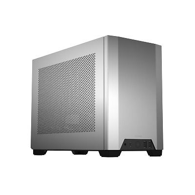 Brand New Boxed NCASE M1 V6.1 SFF Barebones PC Computer Case In Silver • 350£