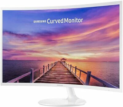 Samsung C32F391 32 Inch Full HD FreeSync 1800R Curved LED Monitor - White • 174.99£