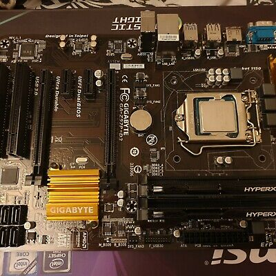 Gaming PC Motherboard Bundle With CPU And Ram • 100£