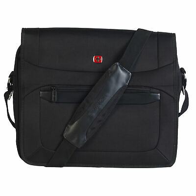 Wenger W73012292 Business Messenger Bag |16 Inches|Padded Laptop Computer Pocket • 24.24£