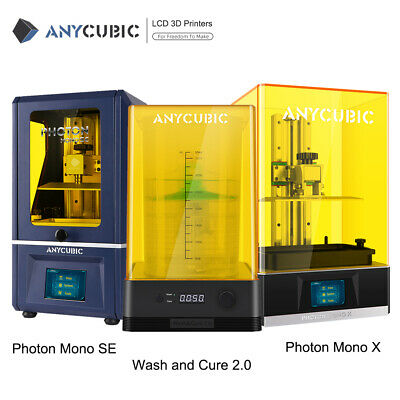 New ANYCUBIC Photon Mono / Mono X High Speed Resin 3D Printer Large Build Volume • 209£