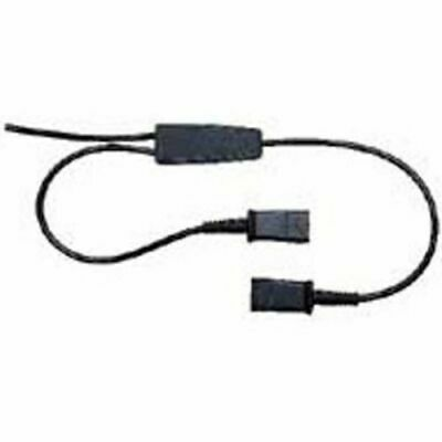 Plantronics Y-Adaptor Training Cord  With Microphone Mute Switch And QD Clamp (4 • 36.12£