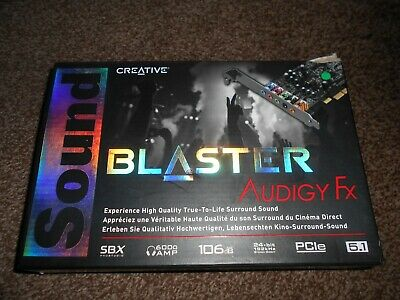 Creative Sound Blaster Audigy Fx Boxed • 35£