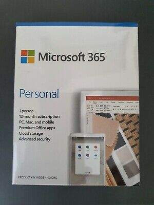 Microsoft 365 Personal (12-Month Subscription) • 38£