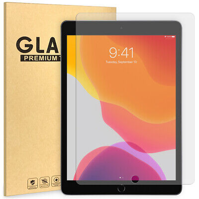 10.2  Screen Protector Apple IPad Tempered Glass  For Generation 7/8 Year 19/20 • 4.98£