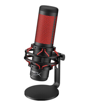 HyperX HX-MICQC-BK QuadCast – Standalone Microphone For Streamers, Top Delivery • 89£