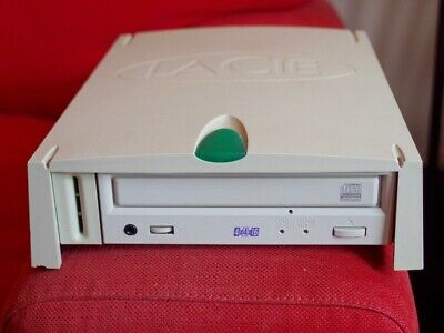 LaCie K525 CD Writer 4x4x16, SCSI Parallel External, Powers Up, Good Condition • 18£