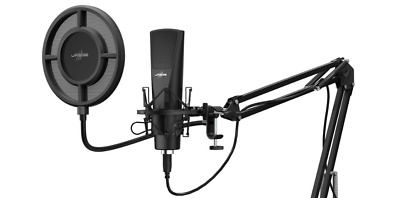 URage  Stream 800 HD Studio  Podcasts Voice-Overs Twitch YT Streaming Microphone • 92£