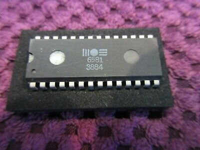 Commodore 64/128 -  MOS SOUND Sid Chip - 6581 R3 - TESTED - Free UK P&P  -  3884 • 10.49£