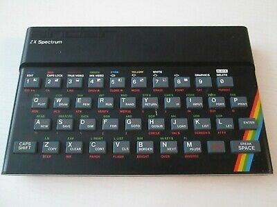 Sinclair ZX Spectrum Computer Only - Rubber Key Version - (Untested) • 35£