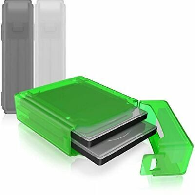 Raidsonic Cns - Accessories Dual 2.5in Hdd/ssd Box Transparent 3 Colours Green G • 13.35£