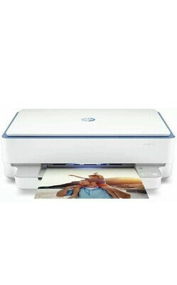 HP ENVY 6010 Printer Print Copy Photo Scan Wireless Compact All In One WITH INK • 99£