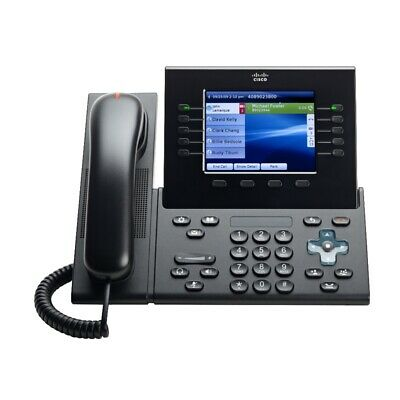 CISCO Unified IP Phone CP-8961-C-K9 In Charcoal Black - Brand New • 24.99£