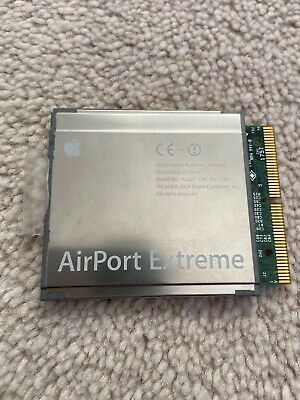 Apple AirPort Extreme WIFI Card A1027 EMC 1951 PowerMac G5 PowerBook G4 IBook G4 • 12.50£