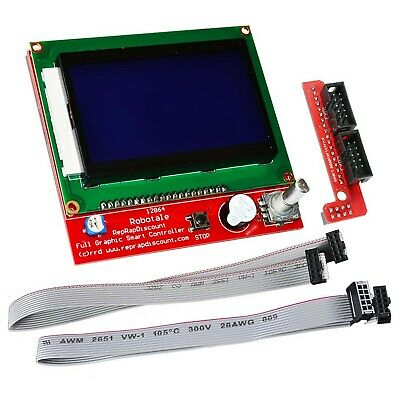 KOOKYE LCD 12864 Graphic Smart Display Controller Module With Connector Adapt... • 46.27£