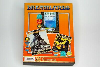 Dreamlands A Silmarils Game Compilation For The Amiga Tested & Working VGC • 14.99£