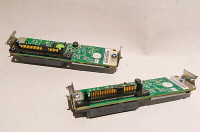 2x Dell SATA To SAS LFF HP592 0HP592 Interposer Board Poweredge 2950 1950 • 11.99£